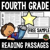 FREE Reading Comprehension Passages and Questions (4th Grade Free Sample)