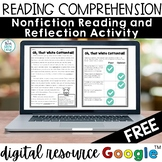 Easter Activities Spring Reading Comprehension Passage and Questions Digital