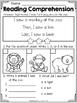 FREE Kindergarten Reading Comprehension (SET 3)