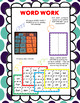 FREE - Short Vowel Word Families Reading Comprehension & Word Work