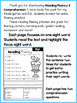 FREE Reading Fluency and Comprehension (Set 1)