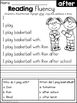 FREE Reading Fluency and Comprehension (Set 3)