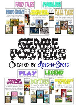 Genres Poster Teaching Resources Teachers Pay Teachers