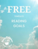FREE - Reading Goals for Secondary Students