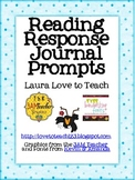 FREE Reading Journal Response Questions