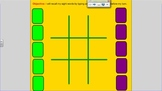 FREE Reading-Literacy Tic Tac Toe Hands on Game for SMART Board