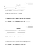 FREE - Reading Log Book Club Form