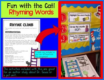 Rhyme Fun with the Cat