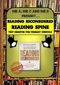 FREE Reading (Reconsidered) Spine for Primary Schools