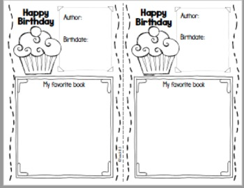 FREE Reading Response Author Study
