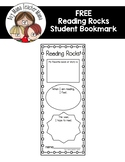 FREE Reading Rocks Bookmark