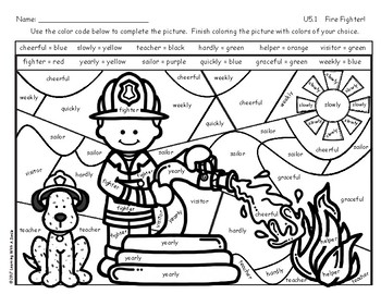 FREE Reading Street Grade 2 Color by Code Unit 5.1