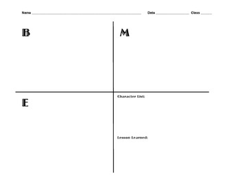 FREE! Reading and Writing Graphic Organizers