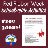 Red Ribbon Week Activities For Your School FREE