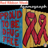 Red Ribbon Week Activity: Proud To Be Drug Free Agamograph