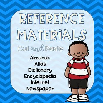 FREE Reference Materials Cut and Paste