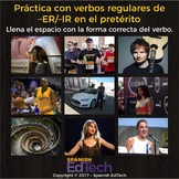 FREE Regular Spanish ER and IR Verbs Practice (Preterite Indicative)