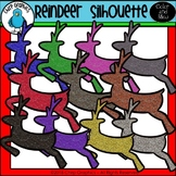 FREE Reindeer Silhouette Clip Art Set - Chirp Graphics