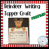 FREE Reindeer Writing Topper Coloring Activity for Printab