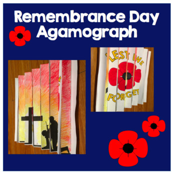 FREE Remembrance Day Poppy and Soldier Agamograph