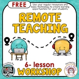 FREE Distance Learning Workshop to help you facilitate rem