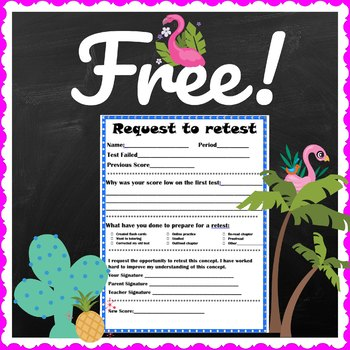 FREE Request to Retest