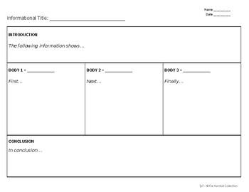 FREE - Research Graphic Organizer (editable)