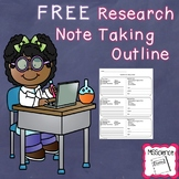 FREE Research Paper Note Taking Outline