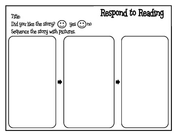 FREE Respond to Reading with Pictures