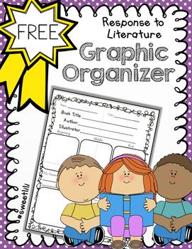 FREE Response to Literature Graphic Organizer