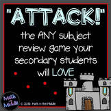 Attack - A FREE Review Game for the Secondary Classroom