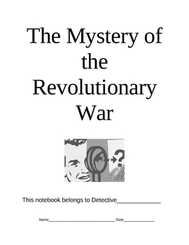 FREE- Revolutionary War Worksheets