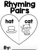 FREE Rhyming Pairs Mini Book