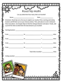 FREE Road Trip Math! Three and Four Digit Addition Practice!