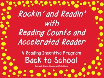 FREE Rockin' and Readin' Reading Incentive Fun--Back to School
