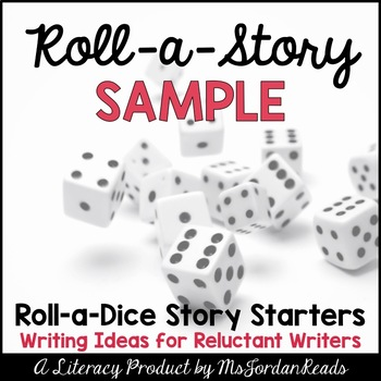 {FREE} Roll-a-Story Writing Activity