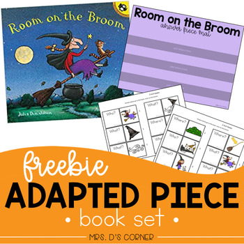 FREE Room on the Broom Adapted Piece Book Set