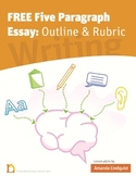 FREE - Rubric and Outline for Expository or Persuasive Essay Writing