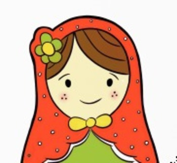 Bookmarks - FREE Russian Nesting Doll download