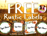 FREE Rustic Labels