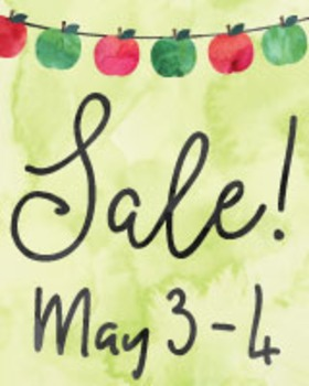 FREE SALE BANNERS Watercolor Teacher Appreciation Sale Ads