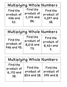 FREE SAMPLE: 5th Grade Math Interactive Notebook-NBT