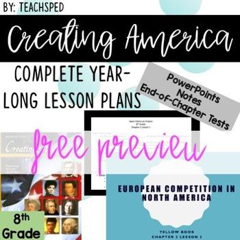 FREE SAMPLE 8th Grade Social Studies Notes!