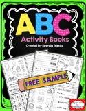 FREE SAMPLE: Alphabet Foldable Activity Books- 2 free books!