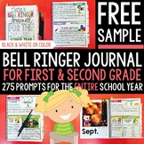 FREE SAMPLE Bell Ringer Journal for the Entire School Year