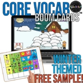 FREE SAMPLE Core Vocabulary Boom Cards™ for Speech Therapy