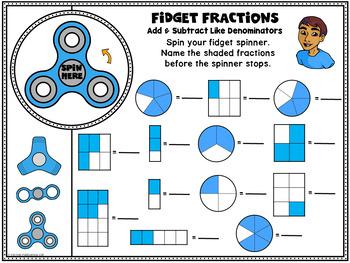 FREE SAMPLE Fidget Fractions