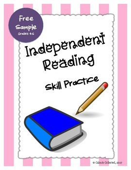 FREE SAMPLE Independent Reading Skill Practice--Great for use with Daily 5!