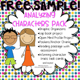 {FREE SAMPLE} Inferring Character Traits Organizer (Analyz