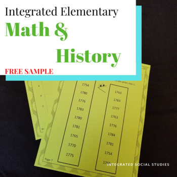 FREE SAMPLE Integrated Elementary Math and History